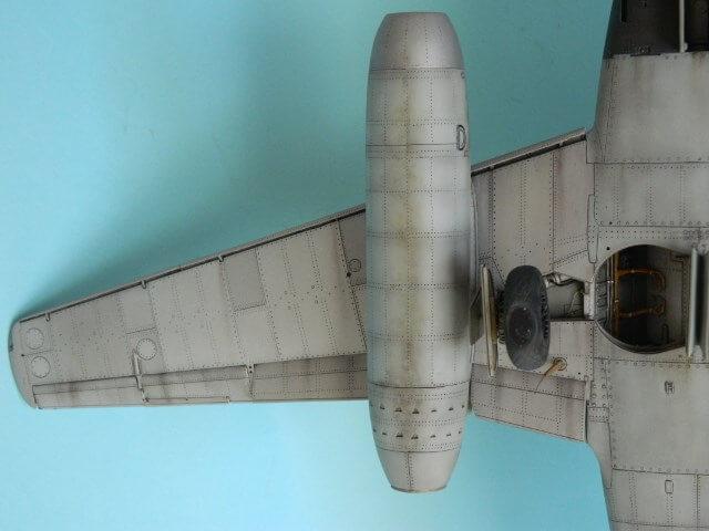 Messerschmitt 262 A 1a - Trumpeter 1/32 - Par fombec - Fini Ma012110