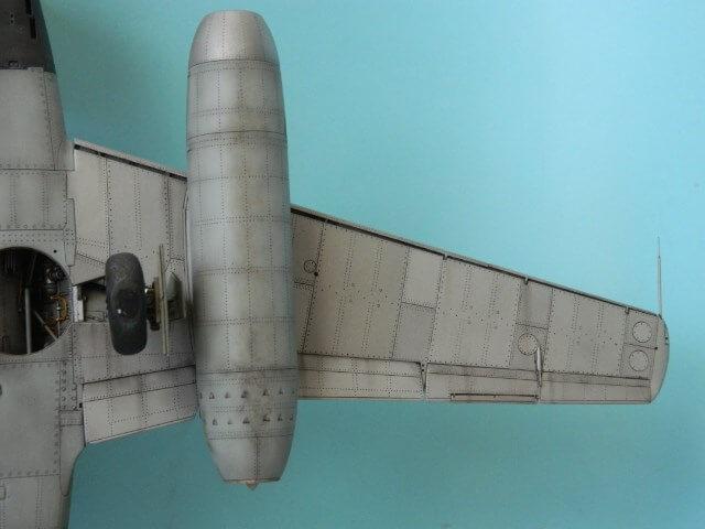 Messerschmitt 262 A 1a - Trumpeter 1/32 - Par fombec - Fini Ma012210