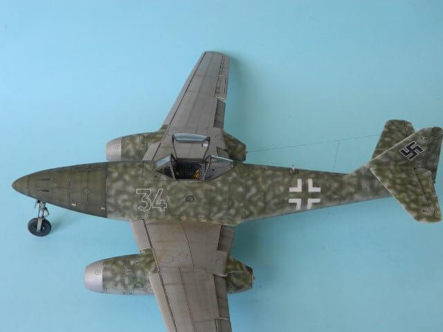 Messerschmitt 262 A 1a - Trumpeter 1/32 - Par fombec - Fini Ma012410