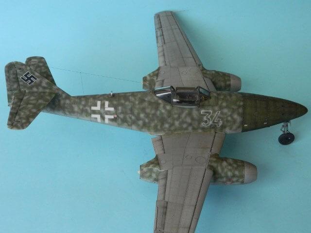 Messerschmitt 262 A 1a - Trumpeter 1/32 - Par fombec - Fini Ma012510