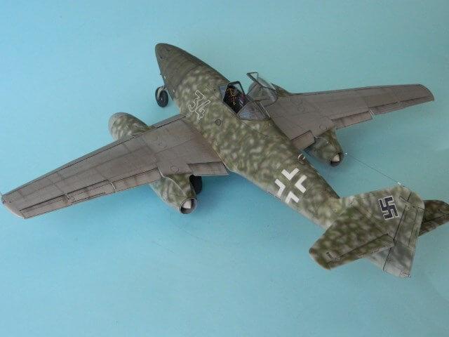 Messerschmitt 262 A 1a - Trumpeter 1/32 - Par fombec - Fini Ma012710