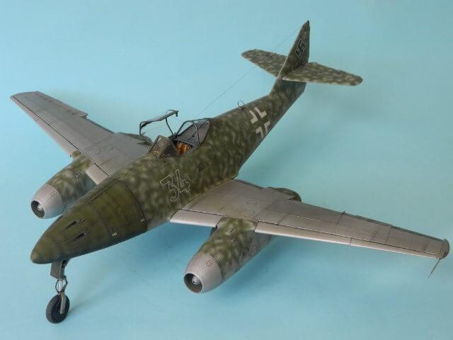 Messerschmitt 262 A 1a - Trumpeter 1/32 - Par fombec - Fini Ma012810