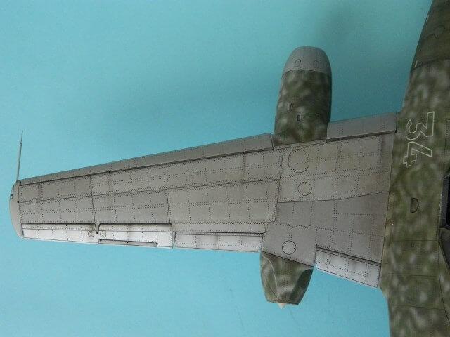 Messerschmitt 262 A 1a - Trumpeter 1/32 - Par fombec - Fini Ma012910