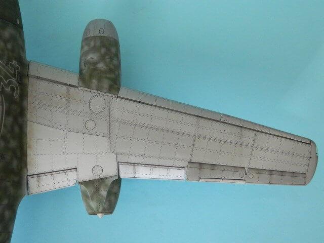 Messerschmitt 262 A 1a - Trumpeter 1/32 - Par fombec - Fini Ma013010