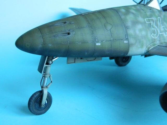 Messerschmitt 262 A 1a - Trumpeter 1/32 - Par fombec - Fini Ma013110