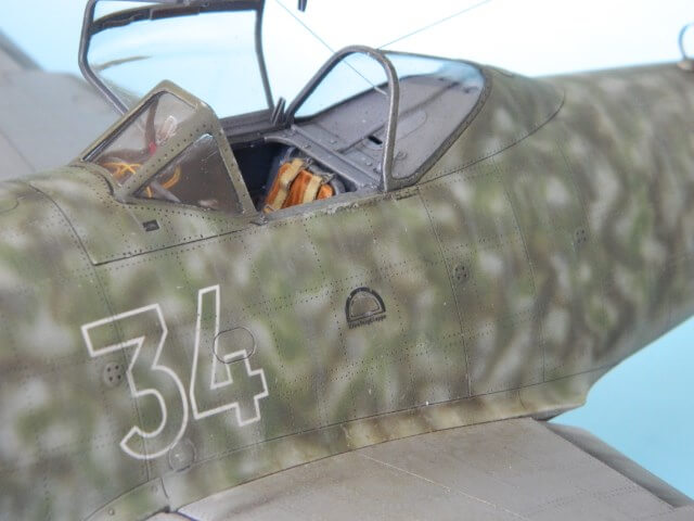 Messerschmitt 262 A 1a - Trumpeter 1/32 - Par fombec - Fini Ma013210