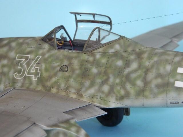 Messerschmitt 262 A 1a - Trumpeter 1/32 - Par fombec - Fini Ma013410