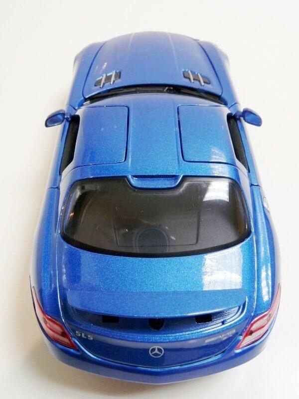 Mercedes SLS AMG GT 6.3 litres Final Edition - 2014 - Maisto 1/18 ème Merce100