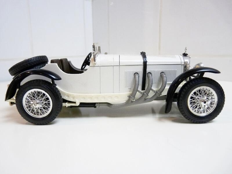 Mercedes Benz SSK - 1928 - BBurago 1/18ème Merced19