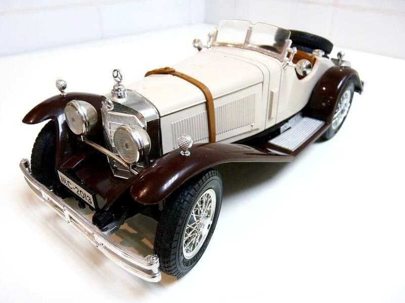 Mercedes Benz SSKL - 1928 - BBurago 1/18 ème Merced32