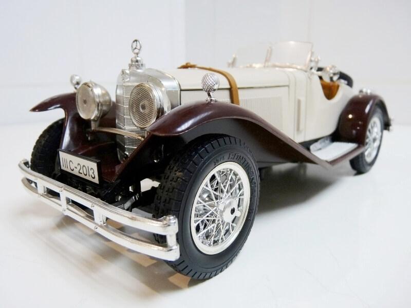 Mercedes Benz SSKL - 1928 - BBurago 1/18 ème Merced34