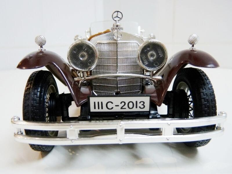Mercedes Benz SSKL - 1928 - BBurago 1/18 ème Merced37