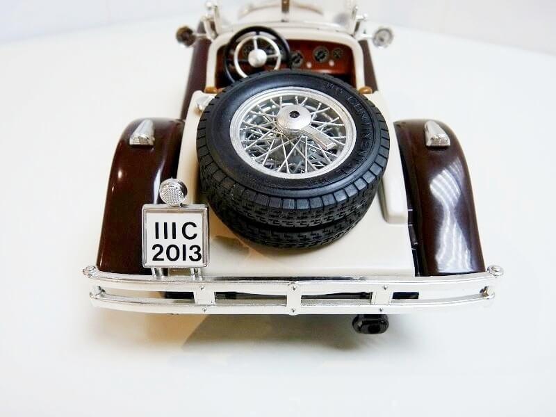 Mercedes Benz SSKL - 1928 - BBurago 1/18 ème Merced38
