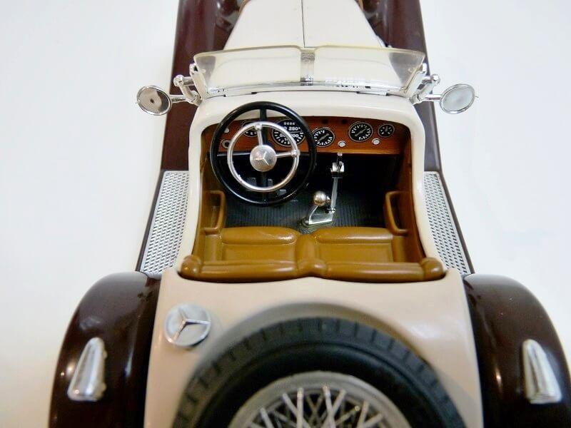 Mercedes Benz SSKL - 1928 - BBurago 1/18 ème Merced42