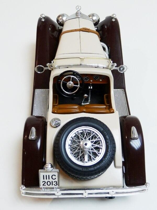 Mercedes Benz SSKL - 1928 - BBurago 1/18 ème Merced46