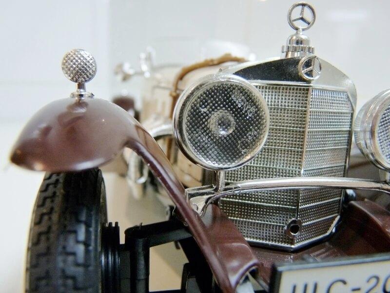 Mercedes Benz SSKL - 1928 - BBurago 1/18 ème Merced47
