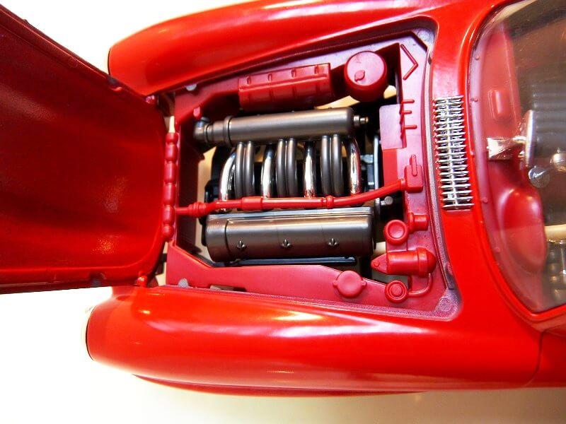 Mercedes 300SL - 1954 - BBurago 1/18 ème Merced63