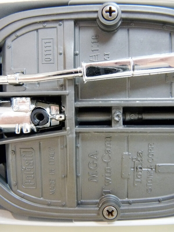 MG A Twin-Cam - 1959 - Tonka Polistil 1/16 ème Mgatc515