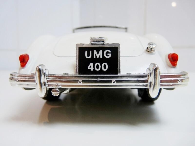 MG A Twin-Cam - 1959 - Tonka Polistil 1/16 ème Mgatc516