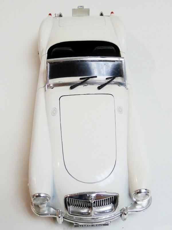 MG A Twin-Cam - 1959 - Tonka Polistil 1/16 ème Mgatc526