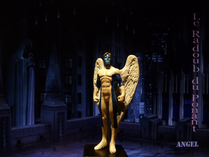 Angel - Figurine en plomb Mlagl110