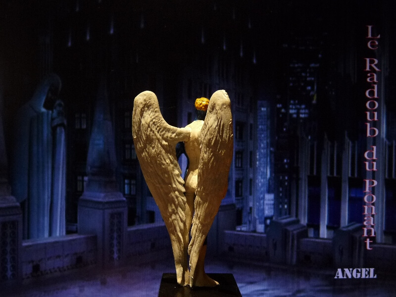 Angel - Figurine en plomb Mlagl510