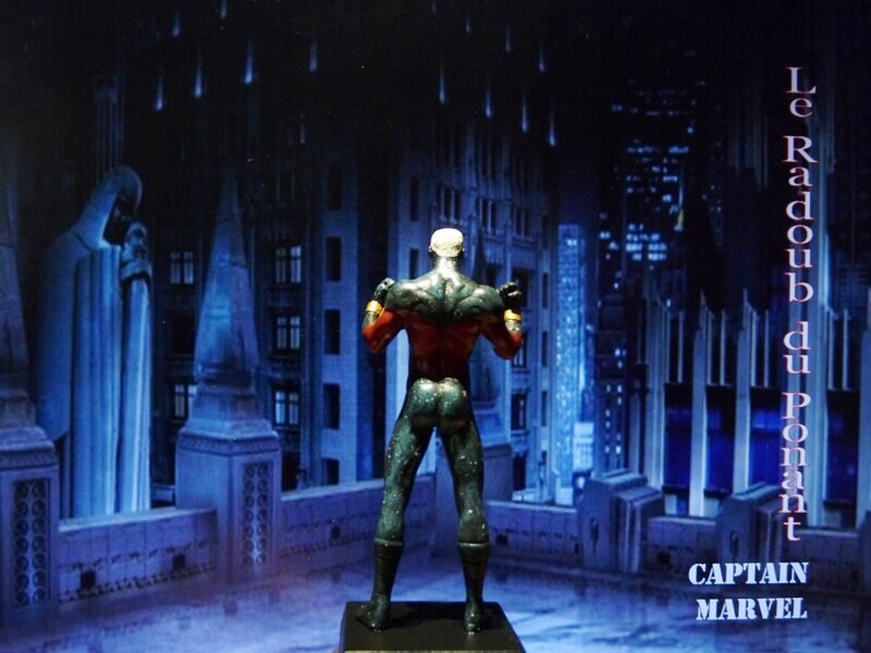 Captain Marvel - Figurine en plomb Mlcmav11
