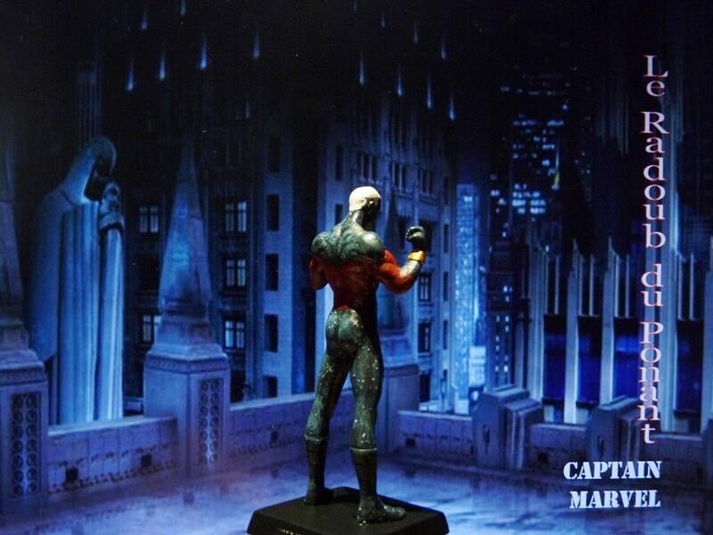Captain Marvel - Figurine en plomb Mlcmav12