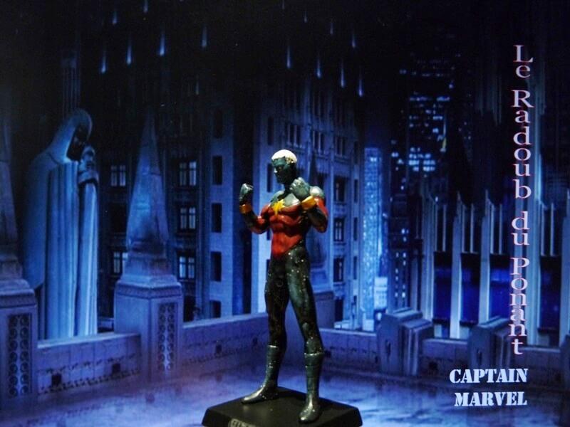Captain Marvel - Figurine en plomb Mlcmav13