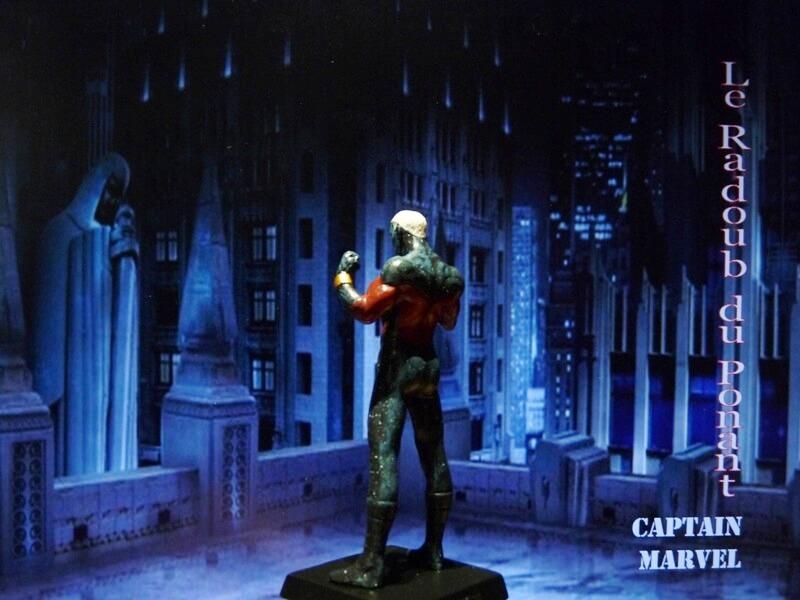 Captain Marvel - Figurine en plomb Mlcmav15