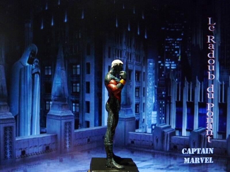 Captain Marvel - Figurine en plomb Mlcmav16