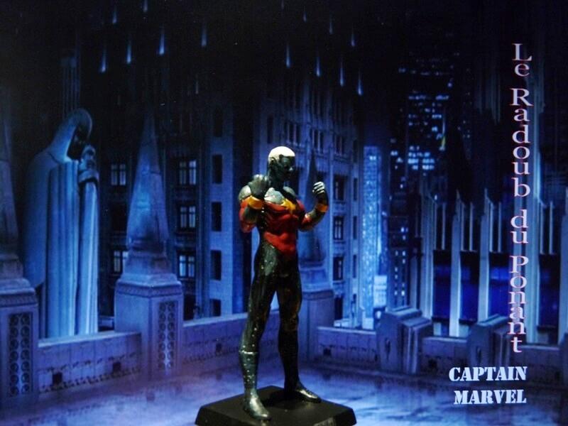 Captain Marvel - Figurine en plomb Mlcmav17
