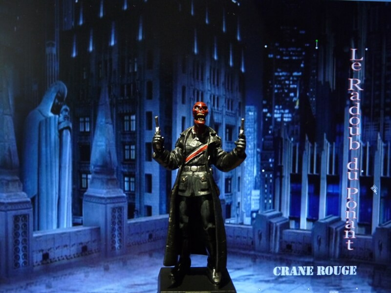 Crane Rouge - Figurine en plomb Mlcnr110