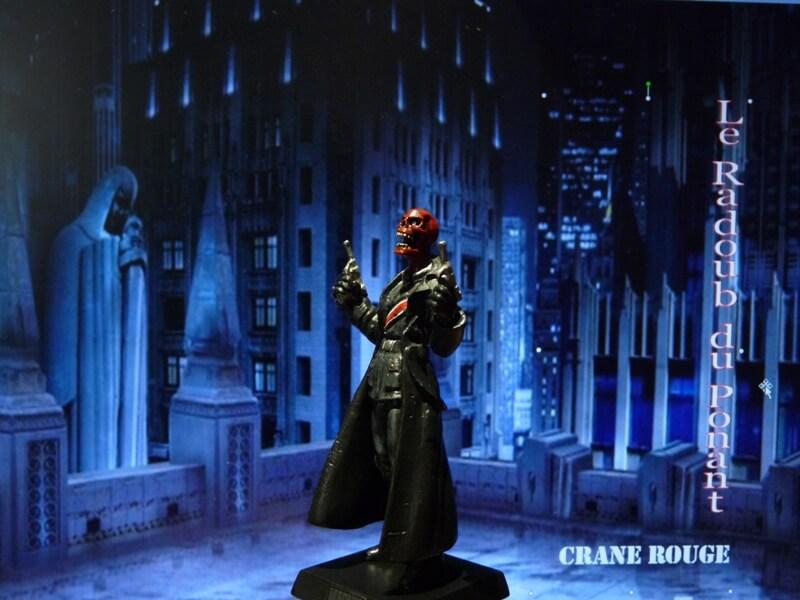 Crane Rouge - Figurine en plomb Mlcnr210