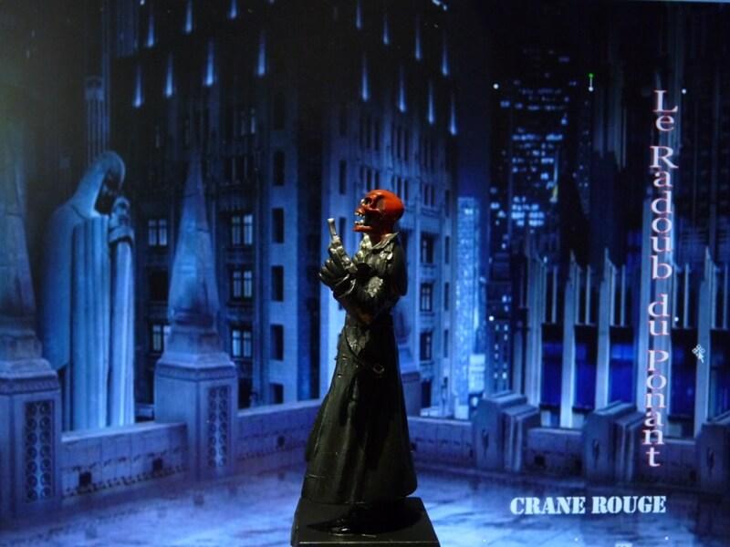 Crane Rouge - Figurine en plomb Mlcnr310