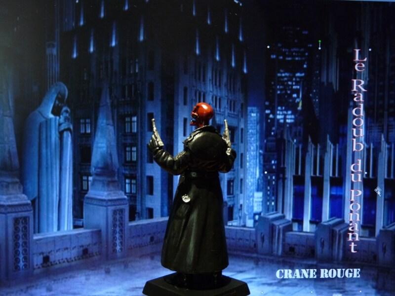 Crane Rouge - Figurine en plomb Mlcnr410