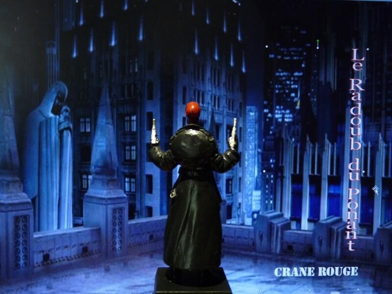 Crane Rouge - Figurine en plomb Mlcnr510