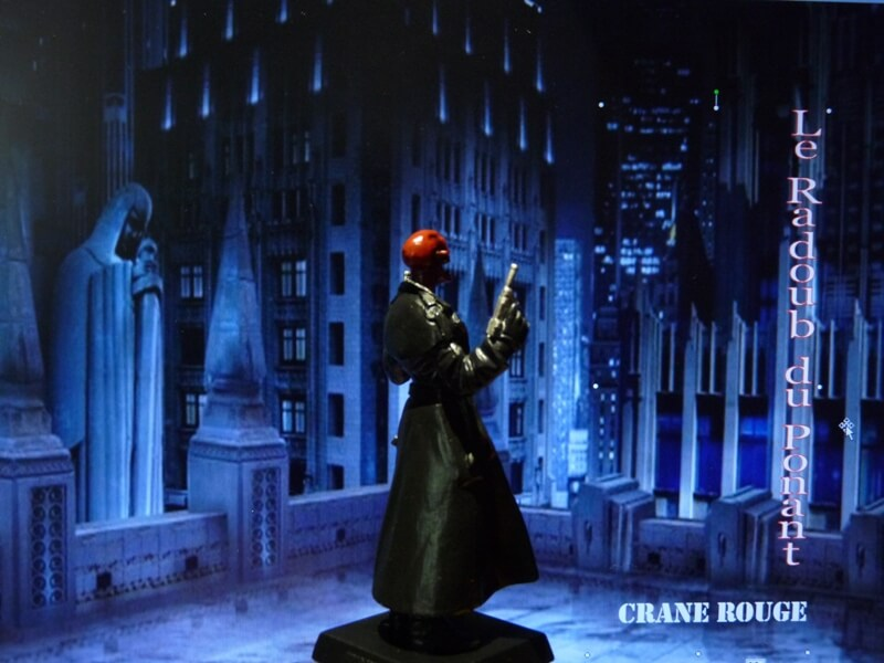 Crane Rouge - Figurine en plomb Mlcnr610