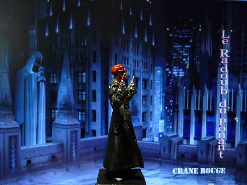 Crane Rouge - Figurine en plomb Mlcnr710