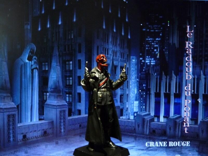 Crane Rouge - Figurine en plomb Mlcnr810