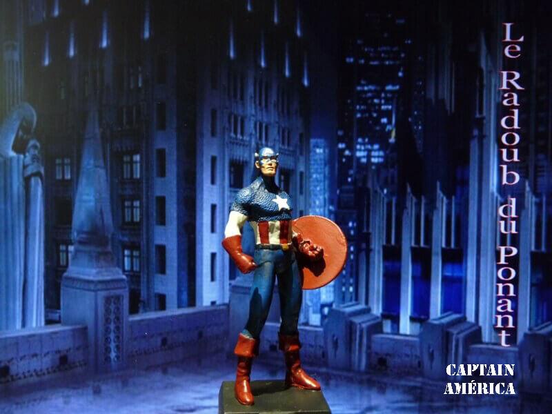 Captain América - Figurine en plomb Mlcpn110