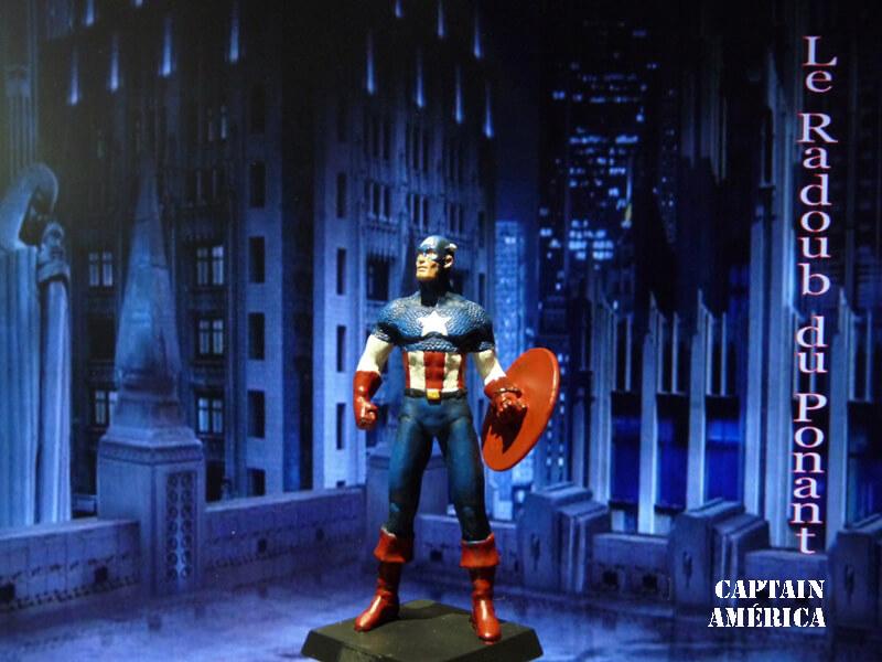 Captain América - Figurine en plomb Mlcpn210