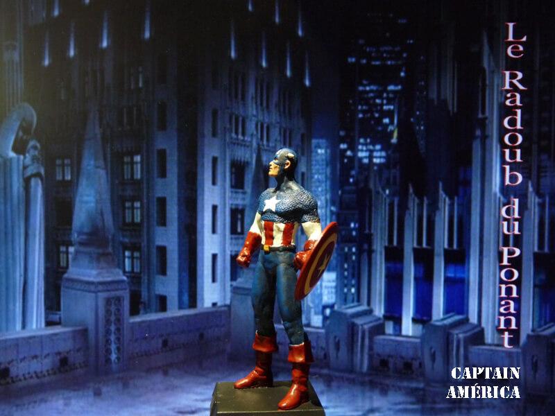 Captain América - Figurine en plomb Mlcpn310