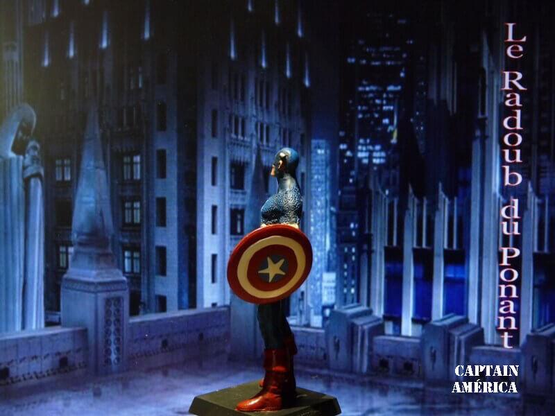 Captain América - Figurine en plomb Mlcpn410