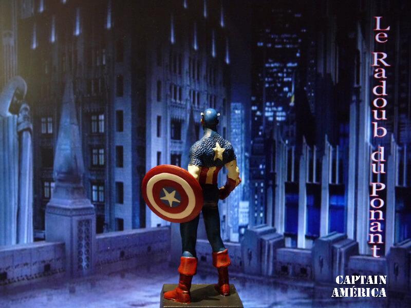 Captain América - Figurine en plomb Mlcpn510