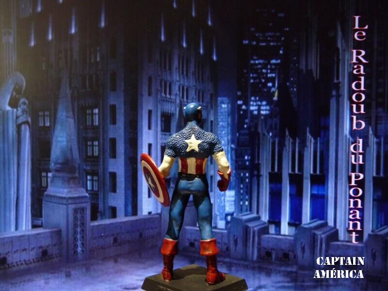 Captain América - Figurine en plomb Mlcpn610