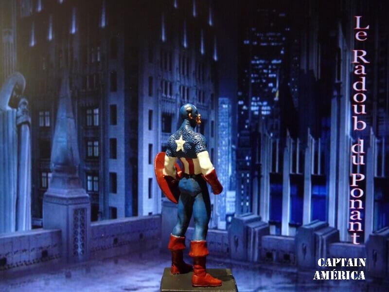 Captain América - Figurine en plomb Mlcpn710