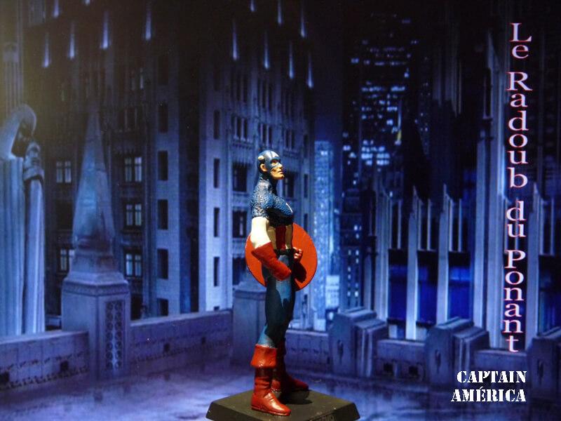 Captain América - Figurine en plomb Mlcpn810