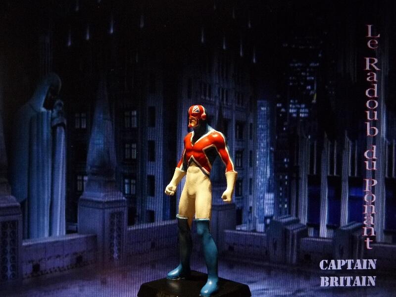 Captain Britain - Figurine en plomb Mlcptb14
