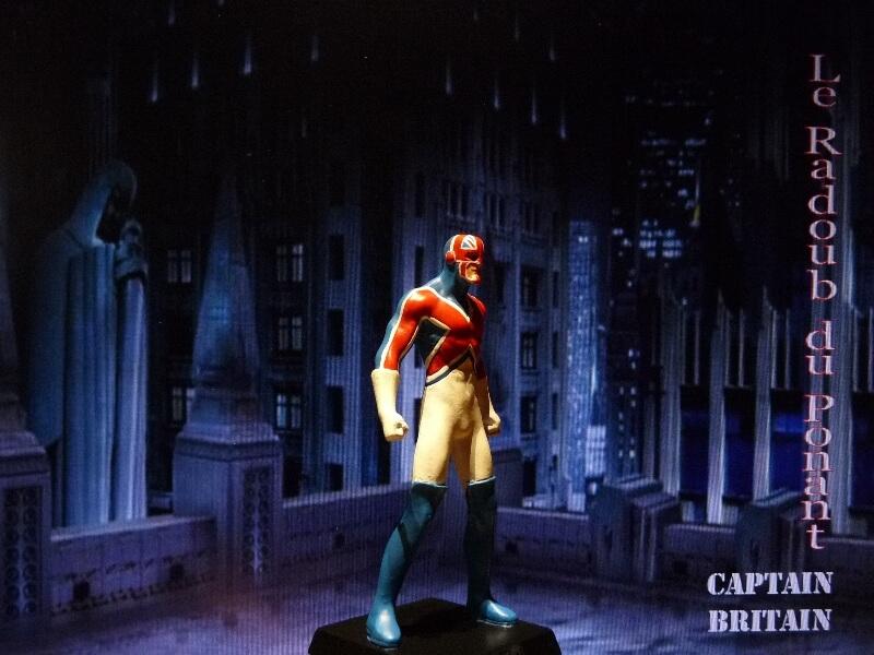 Captain Britain - Figurine en plomb Mlcptb16